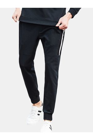 Newchic Men Tracksuit - Fleece Joggers Casual Sport Pants