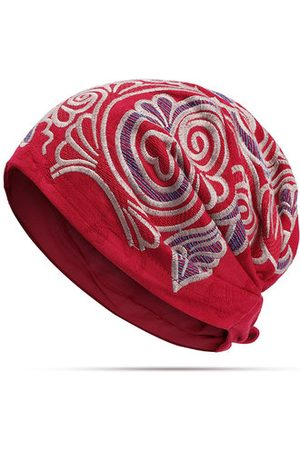 Newchic Ethnic Style Embroidery Beanie Hat