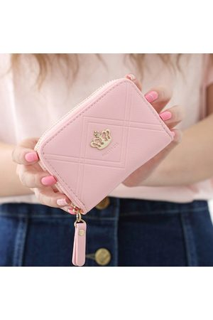 Newchic Candy Color 12 Card Slots Card Holder