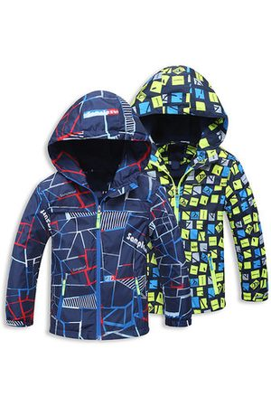 Newchic Thick Winter Printed Boys Jacket