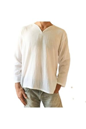 Newchic Men T-shirts - 100%Cotton Breathable Loose Casual T Shirts