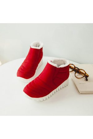 Newchic Large Size Suede Winter Boots