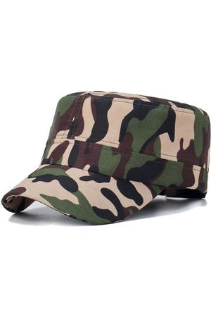 Newchic Camouflage Cotton Flat Cap