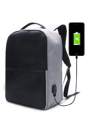 Newchic Ekphero Men Anti Theft Backpack Waterproof Travel Bag