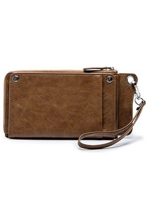 Newchic Vintage PU Leather 6 Inch Phone Bag Clutch Bag Wallet