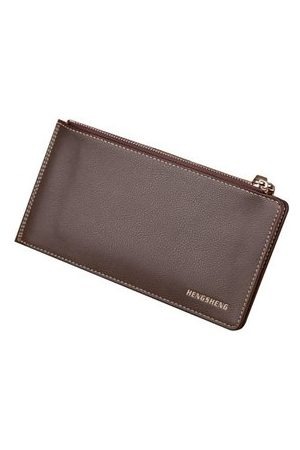 Newchic 15 Card Holders Vintage Genuine Leather Coin Bag Casual Wallet For Men