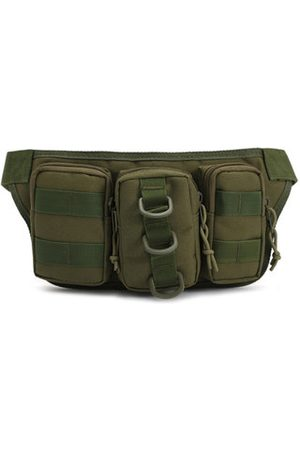 Newchic Nylon Outdoor Sport Camouflage Waist Bag Multifunctional Cycling Travling Waist Bag For Men