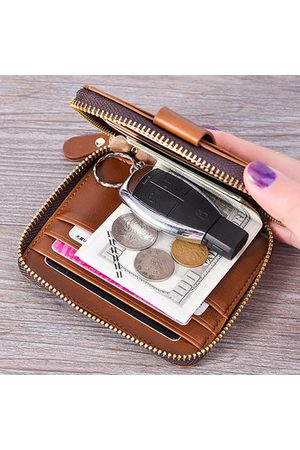 Newchic Men Wallets - Large Capacity Driver License Card Holder Car Key Bag Wallet
