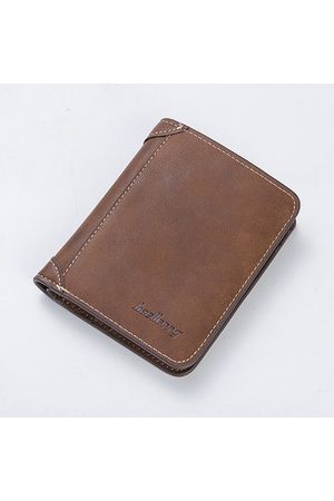 Newchic Vintage PU Leather Short Trifold Wallet For Men