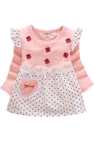 Newchic Baby Girls Casual Cotton Dresses