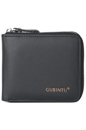Newchic Genuine Leather Multi-functional Coin Pocket Trifold Wallet