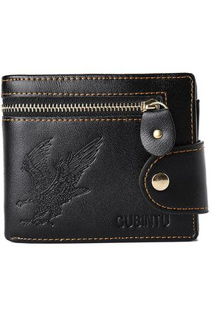 Newchic Vintage Driver License Coin Pocket Trifold Wallet For Men
