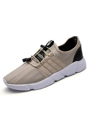 Newchic Men Shoes - Men Knitted Fabric Running Shoes