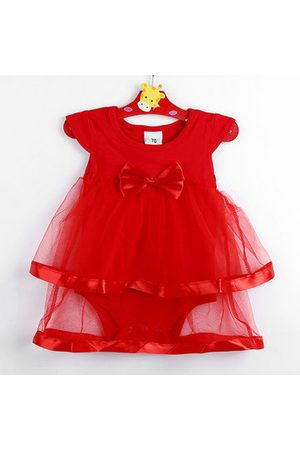Newchic Layered Tulle Baby Girls Rompers Dress