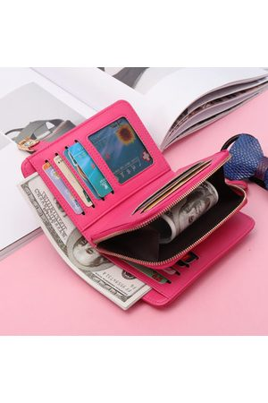 Newchic Genuine Leather 9 Card slots Small Wallet