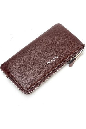 Newchic Men Business Zipper 6 Inch Phone Bag Long Wallet
