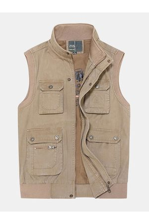 Newchic Plus Size Outdoor Vest