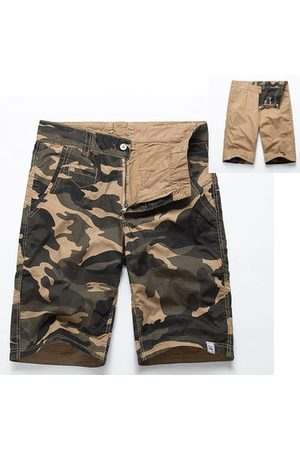 Newchic Double-sided Wear Casual Cargo Shorts