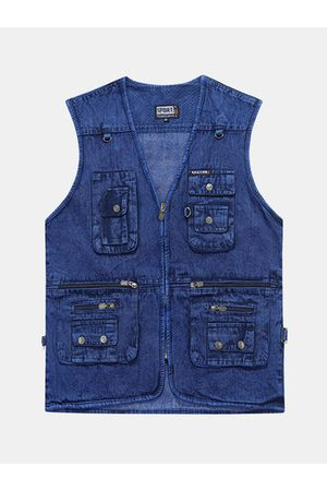 Newchic Multi Pockets Outdoor Casual Vest