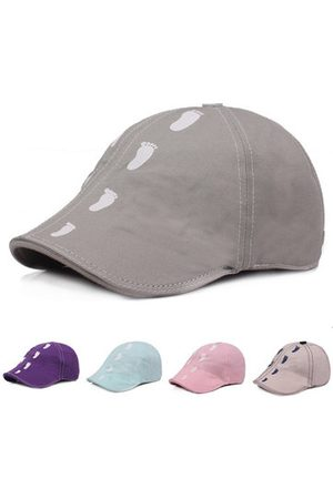 Newchic Unisex Breathable Cotton Peak Hat Adjustable Beret Cap