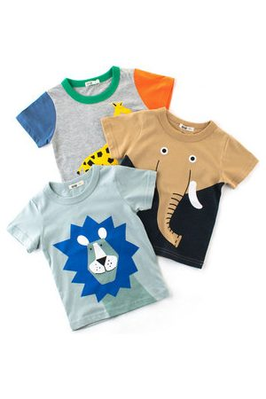 Newchic Animal Pattern Baby Boys Summer Tees