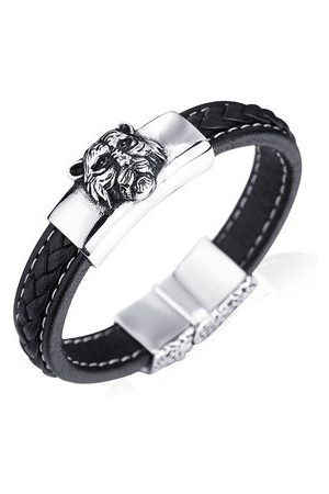 Newchic Cool Tiger Head Leather Bracelets
