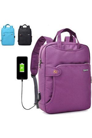 Newchic Women Men Multipurpose Nylon 14/15.6inch Laptop Backpack