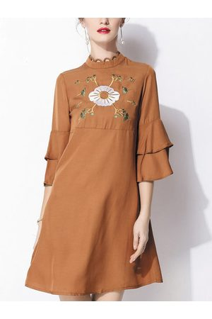 Newchic Vintage Ethnic Style Embroidery Dresses
