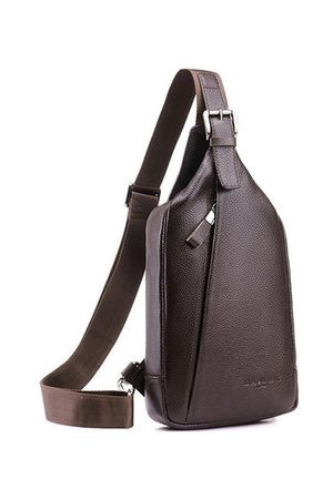 Newchic Business Casual Large Capacity Chest Bag Crossbody Bag