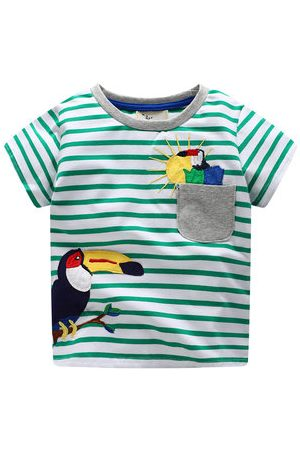 Newchic Animal Printed Baby Boys Summer Tees