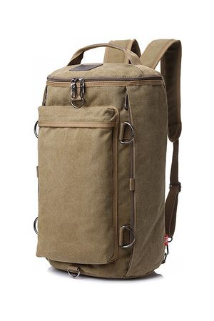 Newchic Canvas 55L Multi-functional Vintage Outdoor Travel Backpack