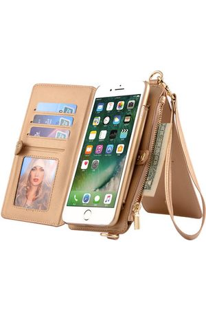 Newchic Genuine Leather Multifunctional iPhone6/6s/6 plus/6s plus Phone Case Wallet Card Holder Phone Bag