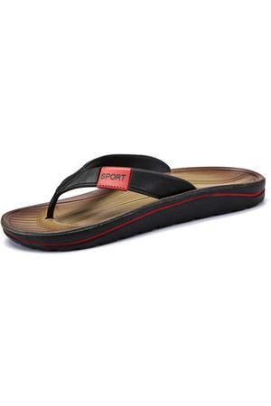 Newchic Men Casual Shoes - Men Clip Toe Slip Resistant Casual Beach Slippers