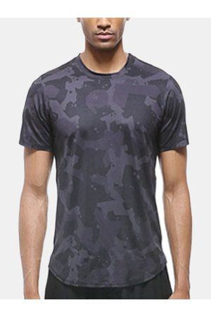 Newchic Quick Dry Breathable Workout T-shirt