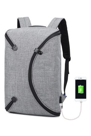 Newchic Oxford Waterproof USB Charging Port Outdoor Travel Backpack