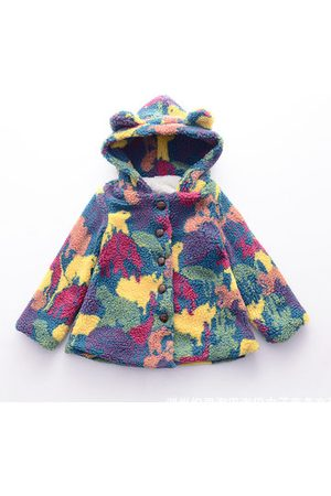 Newchic Kids Girl Colorful Cotton Coat