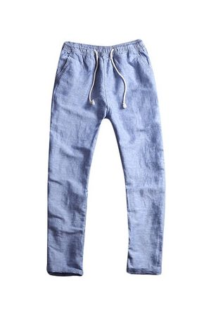 Newchic Chinese Style Cotton Linen Loose Pants
