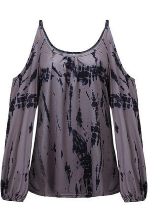 Newchic Off Shoulder Printed Sexy T-shirts