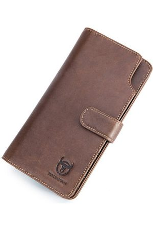 Newchic BULLCAPTAIN Business Casual Retro 12 Card-slots Wallet