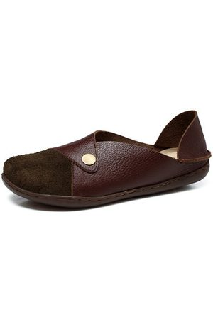 Newchic SOCOFY Soft Flat Leather Shoes