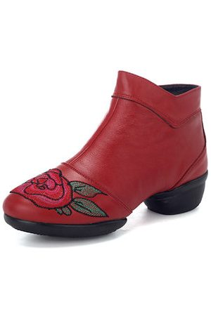 Newchic Women Boots - SOCOFY Retro Leather Boots