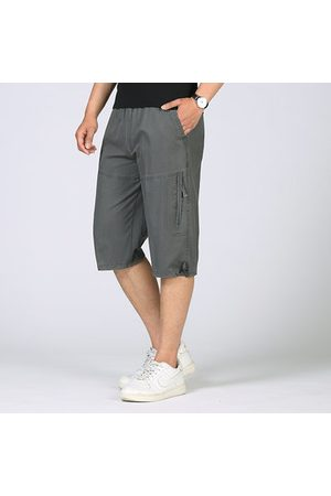 Newchic Men Cargo Pants - Breathable Loose Fit Casual Cargo Shorts