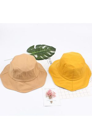 Newchic Round Top Hat Face Thin Bucket Cap Breathable Cotton