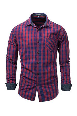 Newchic Mens Bussiness Casual Shirt