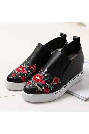 Newchic Women Loafers - SOCOFY Casual Leather Shoes
