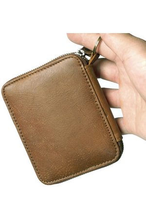 Newchic Men Wallets - Genuine Leather Vintage Card Holder Coin Bag Wallet