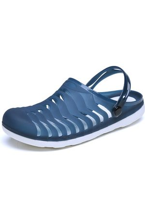 Newchic Men Sandals - Men Breathable Hollow Out Slippers Beach Casual Sandals