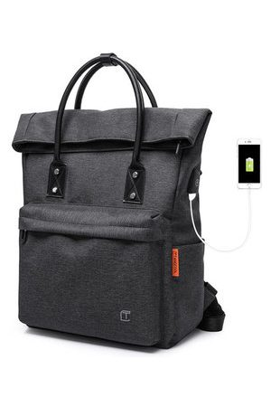 Newchic TANGCOOL USB Charging Handbags Multifunction Laptop Backpack