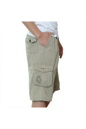 Newchic 100%Cotton Multi-pocket Cargo Shorts
