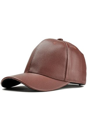 Newchic PU Leather Baseball Cap Sports Hat Outdoor Cap